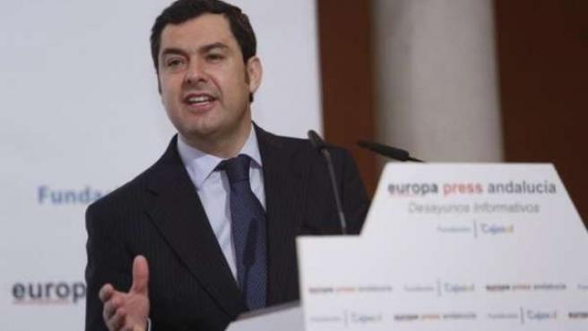 """Moreno urge a Díaz un """"gran pacto por el empleo"""""""