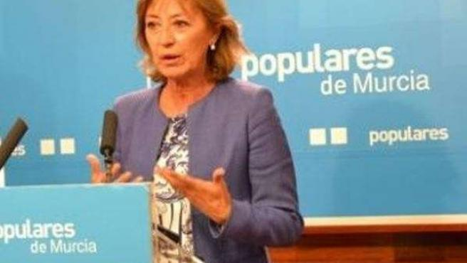 La Presidenta de la Comisión de Comercio del PP regional, Diana Asurmendi