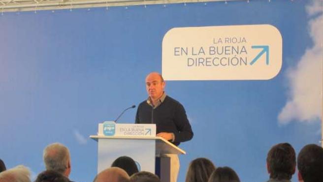 Luis de Guindos en Logroño