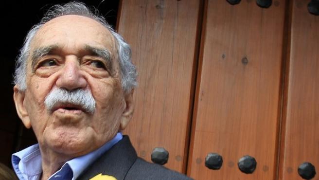 Fotografía del 6 de marzo de 2014 del premio Nobel de Literatura, el colombiano Gabriel García Márquez en Ciudad de México.