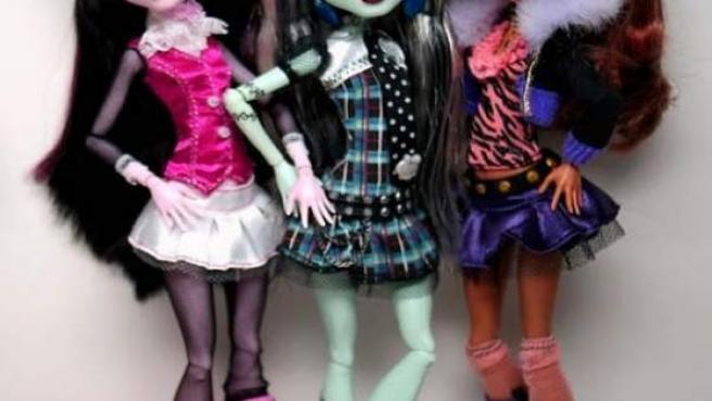 Unas góticas y vampíricas muñecas triunfan entre las niñas, de la serie Monster High.