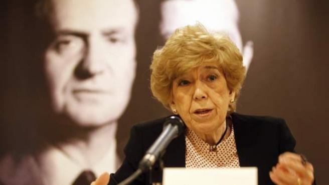 Pilar Urbano, durante la presentación de su libro.