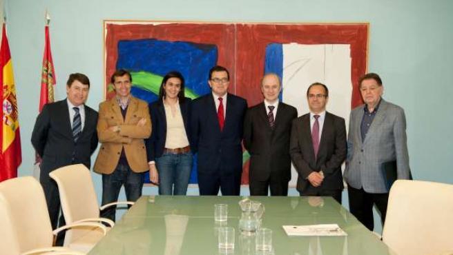 El jurado del Premio Castilla y León del Deporte 2013