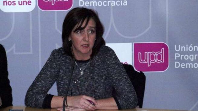 Fuensanta Máximo, responsable regional de Unión Progreso y Democracia