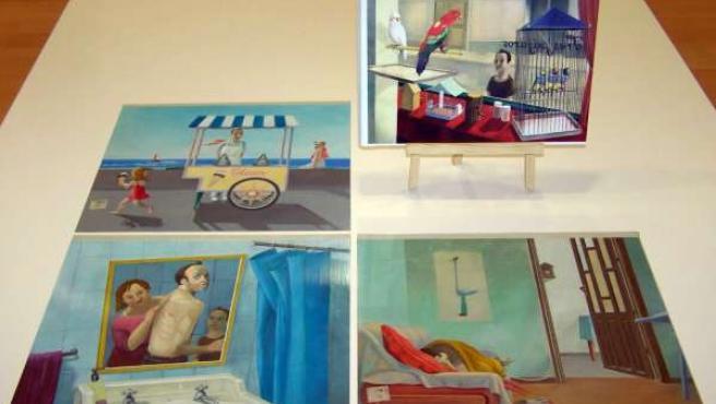 Icaro, obra ganadora del Premio de Album Ilustrado