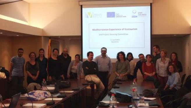 Participantes en el proyecto Meed de ecoturismo