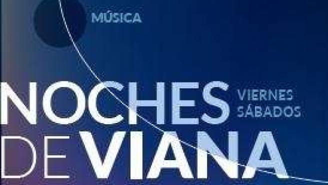 Cartel de 'Noches de Viana'