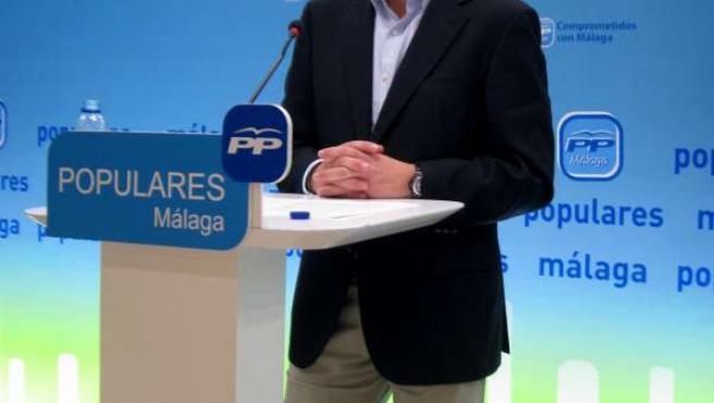 El presidente del PP-A, Juan Manuel Moreno