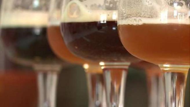 Cerveza artesanal 'Sevebrau'