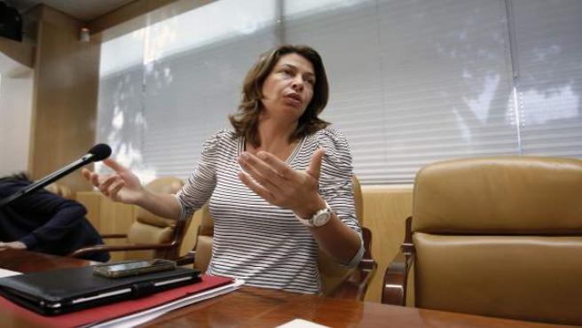 La consejera de Educación y Empleo de la Comunidad de Madrid, Lucía Figar.