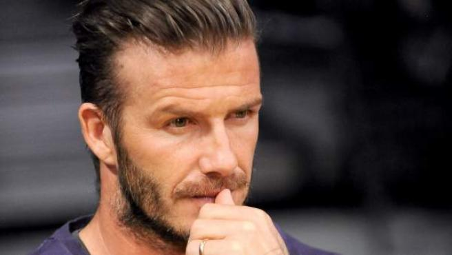 El exfutbolista inglés David Beckham, en una imagen de archivo.