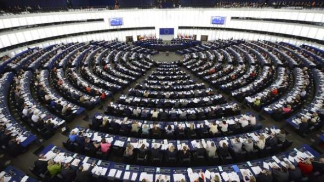 Vista general de una sesión plenaria en el hemiciclo del Parlamento Europeo (PE), en Estrasburgo (Francia).