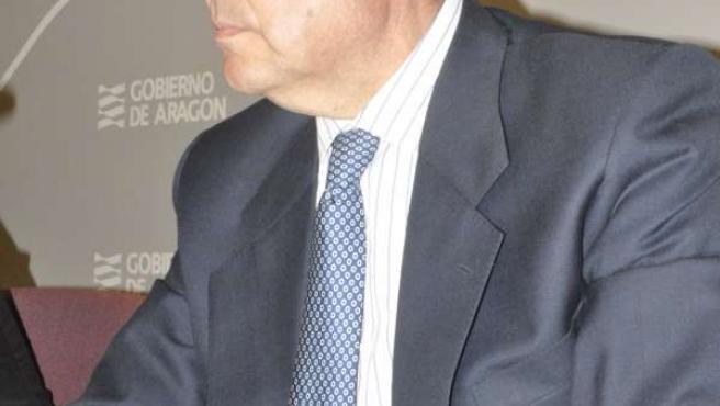 El consejero de Industria e Innovación, Arturo Aliaga.