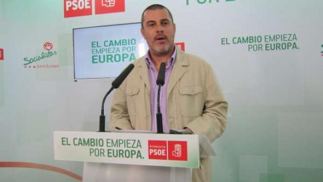 Jesús Ferrera, secretario de Organización del PSOE de Huelva.