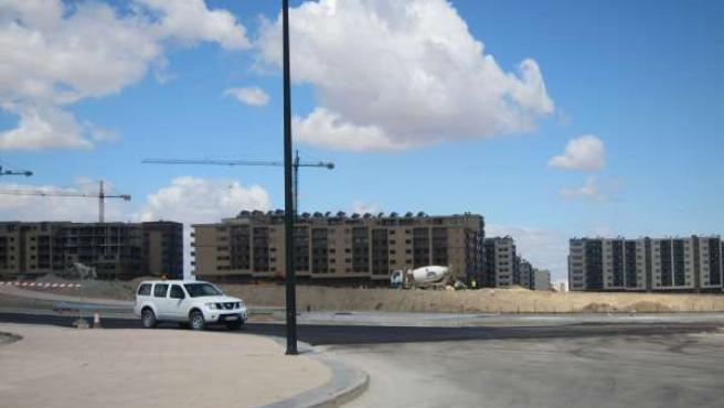 Construcción Del Nuevo Barrio De Arcosur