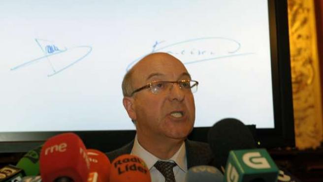 El alcalde de Ourense