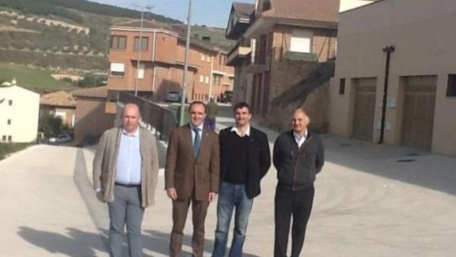 Francisco Pérez, José Javier Esparza, Antonio Ángel Moleón y Pedro Mangado,