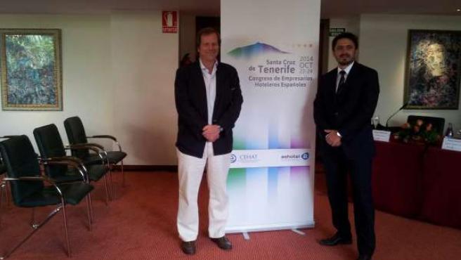 Ramón Estalella y Jorge Marichal