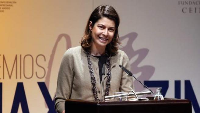 La consejera de Educación, Juventud y Deportes de la Comunidad de Madrid, Lucía Figar.
