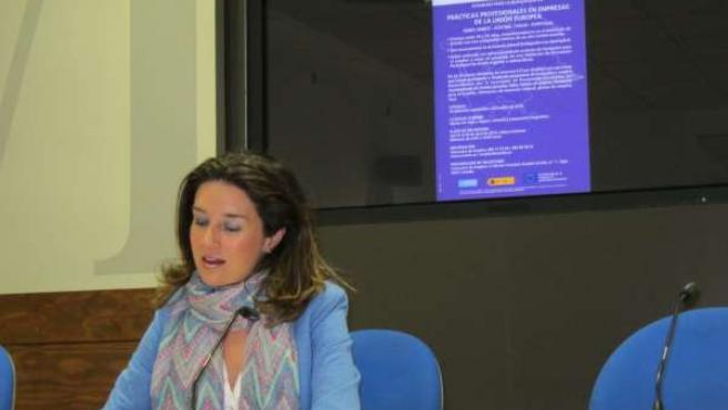 Concejal del Ayuntamiento de Oviedo, Silvia Junco