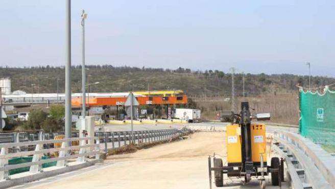 Las obras de mejora del enlace Figueres Norte