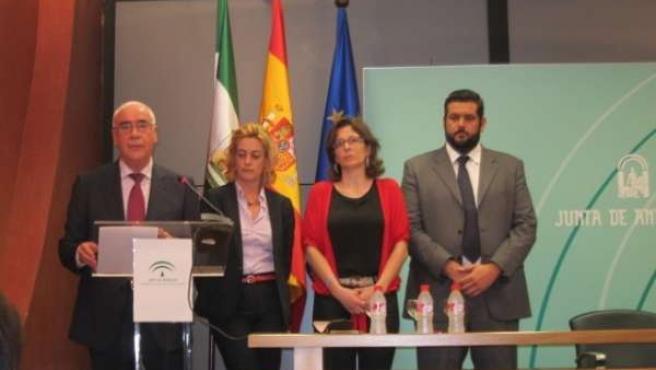 El consejero de Educacción, Cultura y Deporte, Luciano Alonso
