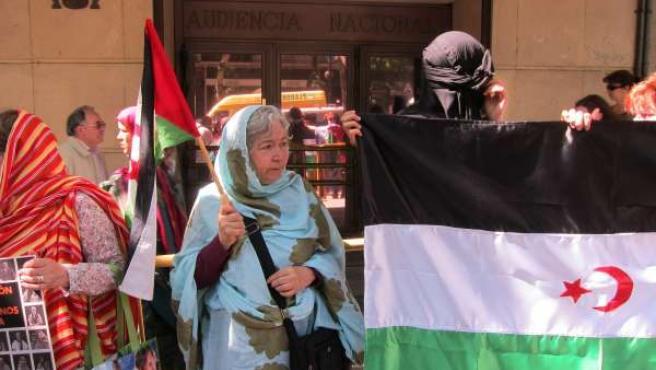 Activistas Pro Saharauis Ante La Audiencia Nacional