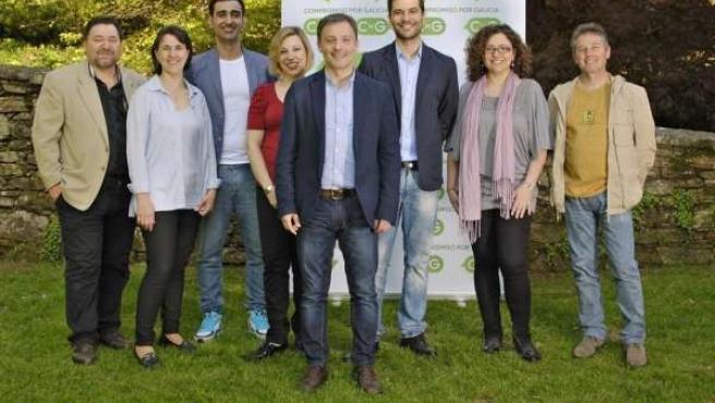 Presentación candidatura CxG a las europeas