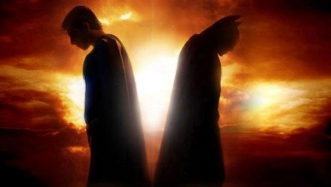 Una imagen de Batman y Superman juntos.