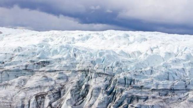 Capas de hielo en Groenlandia.