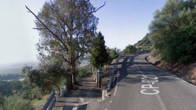 Imagen de la carretera de Trassierra, en Córdoba.