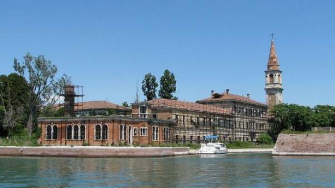Imagen de la isla italiana de Poveglia.