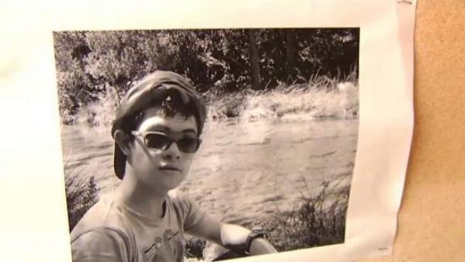 Imagen de una de las fotografías que difundieron para la búsqueda de Miguel, un niño con síndrome de Down desaparecido en la Sierra de Cazorla.