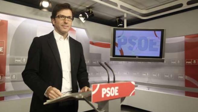 Juan Moscoso (PSOE) en Ferraz