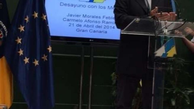 Javier Morales candidato de CC a las elecciones europeas