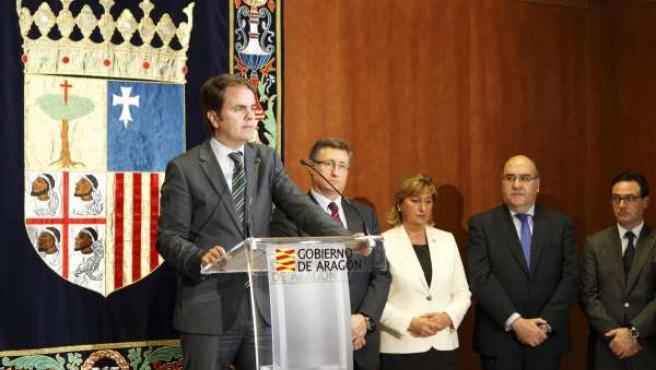 Roberto Bermúdez de Castro en el Día de Aragón.