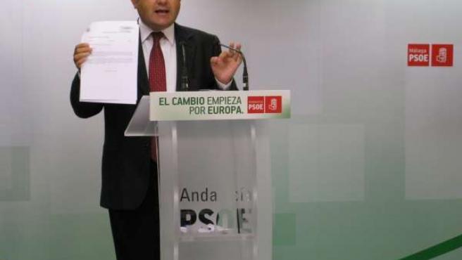 Miguel Ángel Heredia, coordinador Interparlamentaria del PSOE-A y líder málaga