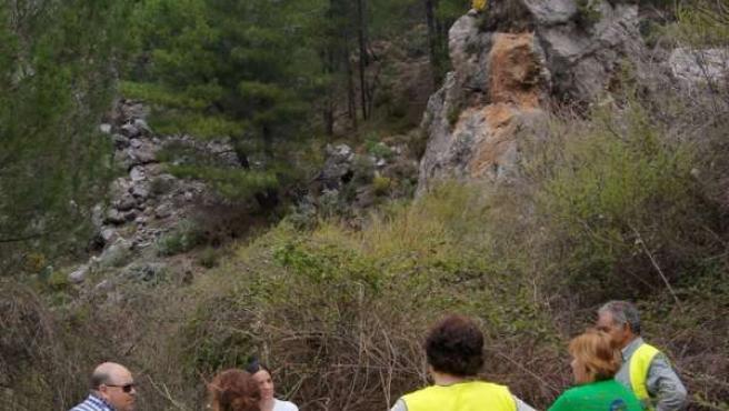 Paso viajeros románticos de Güéjar Sierra