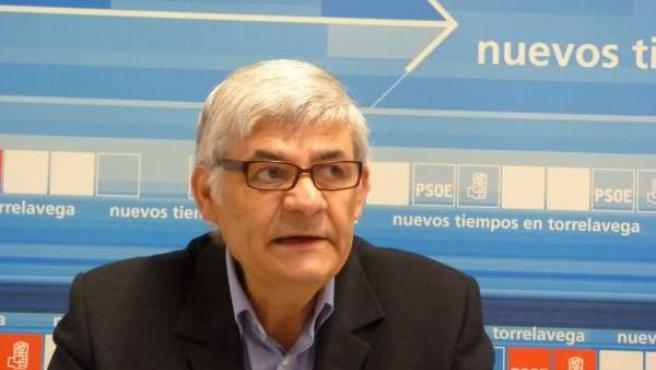 Felipe Tapia, portavoz municipal del PSOE en Polanco