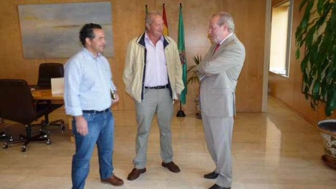Reunión en la Diputación.