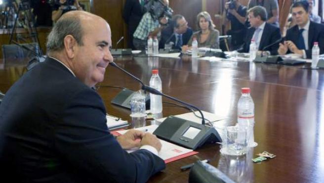 El secretario de Ciudades y Política Municipal del PSOE, Gaspar Zarrías.