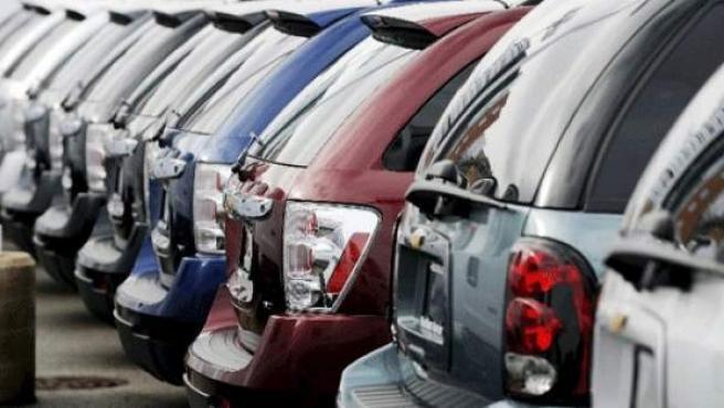 Una imagen de coches de segunda mano a la venta.
