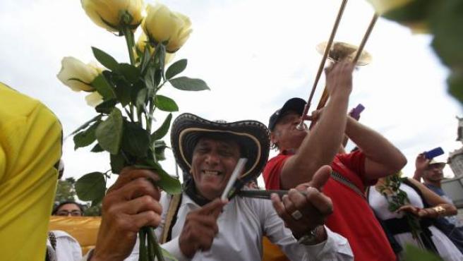 El autor de Cien años de soledad fue desepedido en un emotivo acto de homenaje en la Ciudad de México.