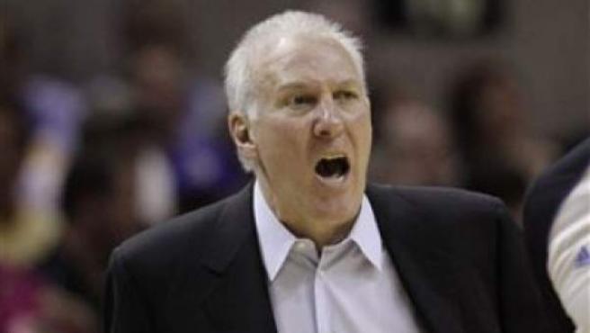 Gregg Popovich, entrenador de los San Antonio Spurs.