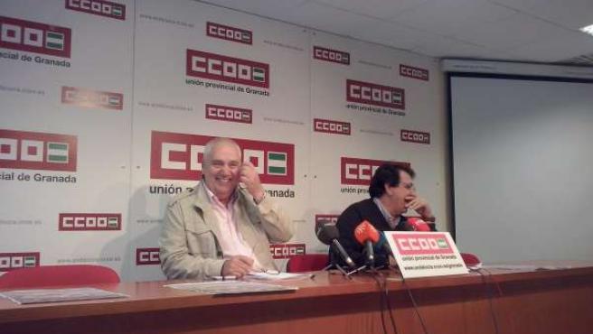 El Secretario General De CCOO Andalucía, Francisco Carbonero.