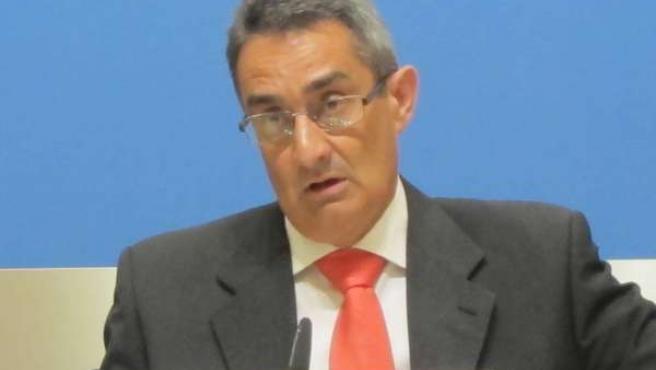 El concejal del PP, Julio Calvo