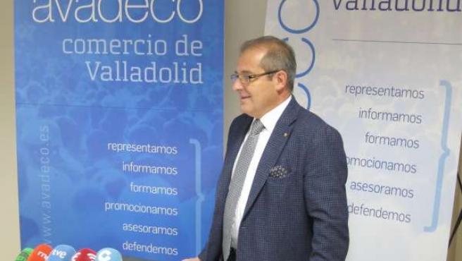 El presidente del Gremio de Libreros de Valladolid, Marco Antonio Blanco Lobato