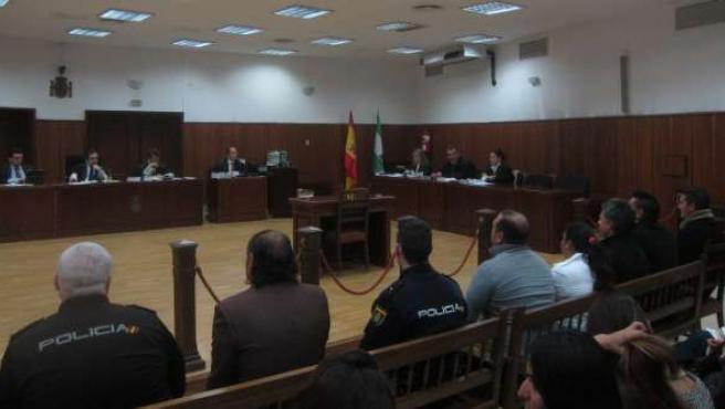 Celebración del juicio a los acusados del crimen de Puente Genil en 2008