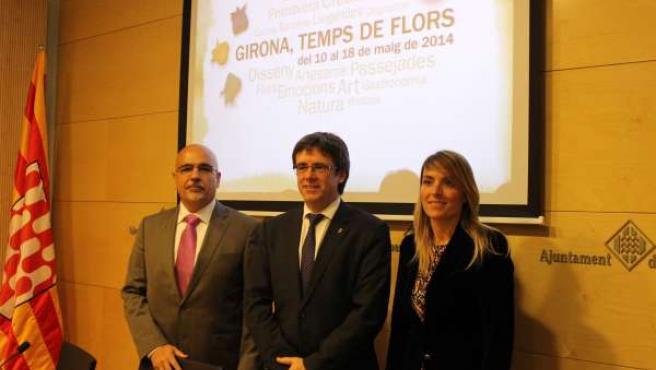 Presentación de la nueva edición de 'Girona, Temps de Flors'