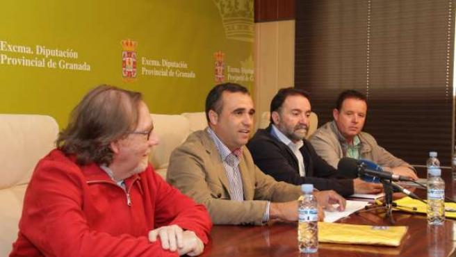 Presentación del II Encuentro Provincial de Senderismo